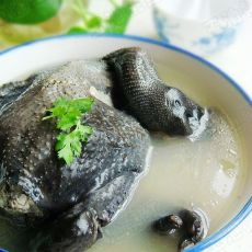 清炖乌鸡汤的做法