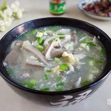 蛋花平菇汤
