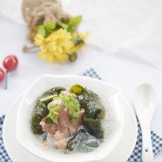 海带结大骨汤的做法