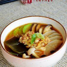 韩式干贝海带大酱汤