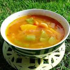 南瓜泡菜汤