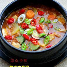 韩式大酱汤的做法