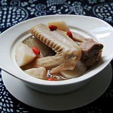 老鸭山药汤