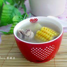 甘蔗玉米煲脊骨