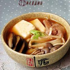 韩式蘑菇辣汤