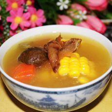 云腿野菌蔬菜汤