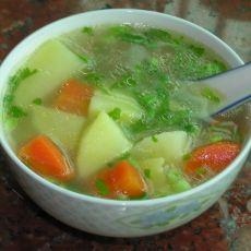 土豆胡萝卜汤的做法