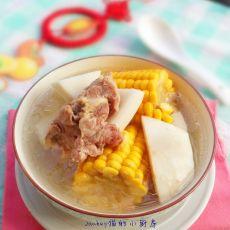 椰香粟米骨头汤