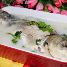 豆浆鲫鱼汤的做法