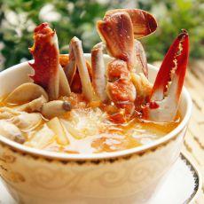 茄汁菌菇白蟹汤