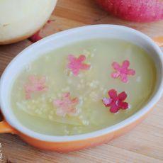 苹果皮米汤