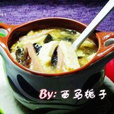 简易酸辣汤的做法