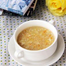 玉米羹蛋汤