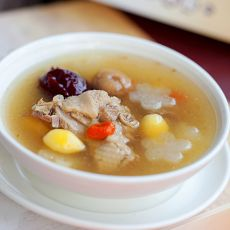 双果土鸭汤