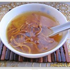 虫草花旗参汤的做法