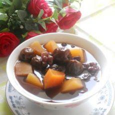 桂圆蜜枣木瓜汤的做法