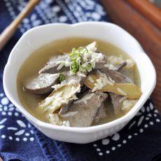 米酒猪肝汤的做法