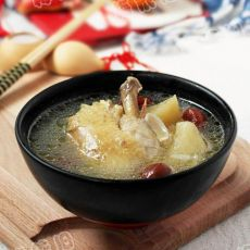 苹果百合鸡汤