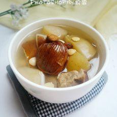 雪梨苹果猪展汤
