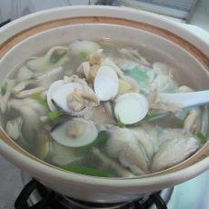 文蛤鲜菇汤