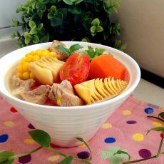 田园瘦肉汤