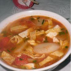 山药番茄豆腐汤的做法