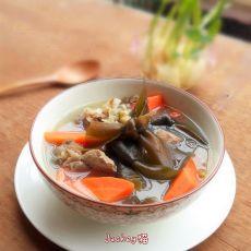 海带绿豆骨头汤的做法