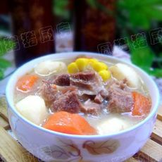 冬日滋补羊肉汤