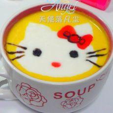 KT猫牛奶金瓜汤的做法