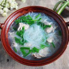 砂锅骨头汤粉丝的做法