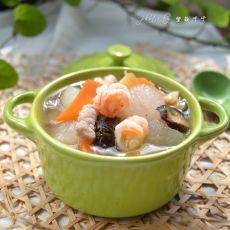 冬瓜八宝汤的做法