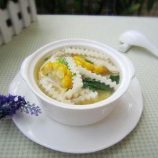 甜玉米鲜菇汤