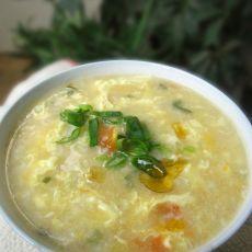 西红柿冷饭疙瘩汤