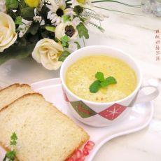 核桃奶酪浓汤的做法