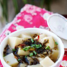 盐菜米豆腐的做法