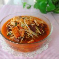 开胃泡菜汤