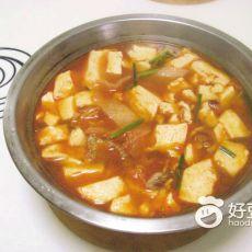 泡菜豆腐瘦肉汤的做法