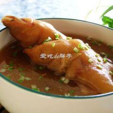 大枣黄豆猪蹄汤的做法