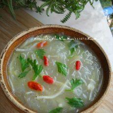 冬瓜银鱼粉丝汤