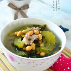 苦瓜海带瘦肉汤