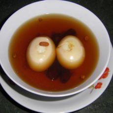 鸡蛋红枣枸子汤