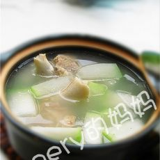 冬瓜筒骨汤的做法