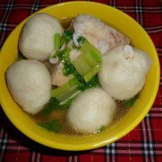 鱼丸芋头汤