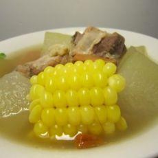 润秋燥的汤【冬瓜排骨玉米汤】的做法