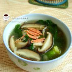 香菇青菜汤的做法