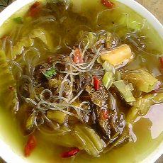 酸菜粉丝汤的做法