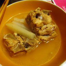 淡菜萝卜腔骨汤