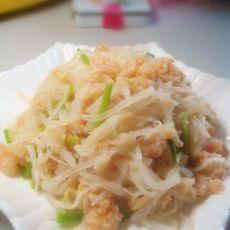 萝卜丝虾仁