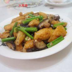 油豆腐烧香菇