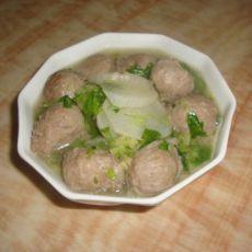 羊肉丸萝卜汤